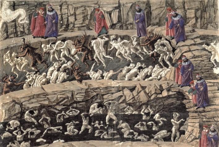Sandro Botticelli, Disegni per la Divina ommedia di Dante