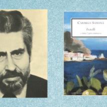 Carmelo Samonà e la copertina del libro Fratelli
